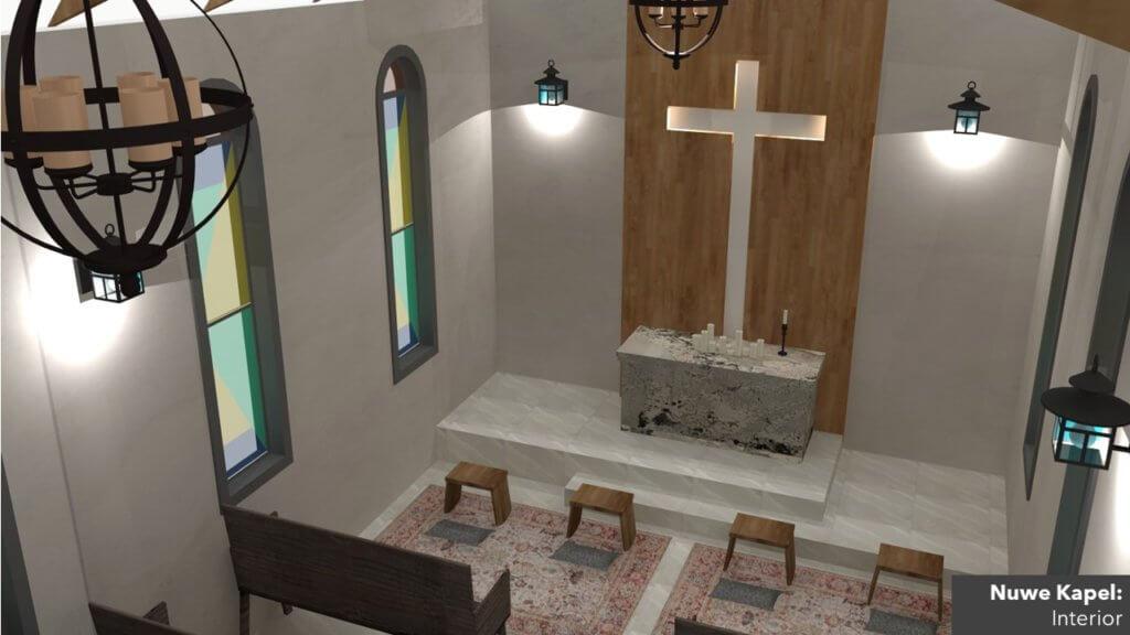 Betesda Lewensentrum Kapel Binne Bo